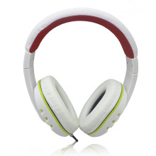 white PVC soft head earphone