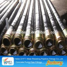 concrete pump rubber hose finestone pump rubber hose dn80*8m hot sell in Malaysia