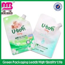 best standard oem service small sachet detergent spout bag