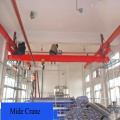 Gumagana ang SDQ Manual Single Girder Overhead Crane