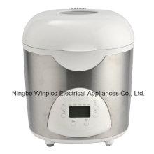 2-фунтовая программируемых электрические хлебопечка, белый, черный или нержавеющая сталь