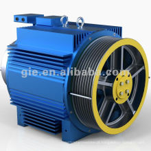 800kg 2.5m / s engrenagem máquina de tração GSS-LL para peças de elevador