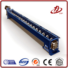 High capacity cement screw auger conveyor