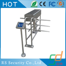 Mecánico 3 Arm Gate Reader Half Height Turnstile