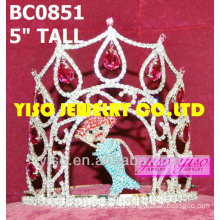 butterfly beauty pageant crown
