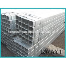 Carbon Galvanisiertes Stahl Quadrat Rohr