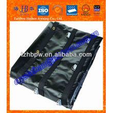 Tarpaulin resistente do PVC com força forte do rasgo