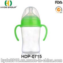 Bouteille de alimentation de bébé mignon PP 300ml vente chaude (HDP-0715)