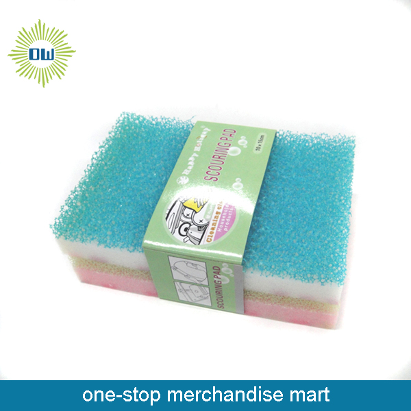 2 PC Kitchen Cleaning Sponge