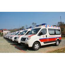 Ambulancia de traslado de vehículos médicos