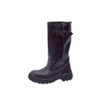Ufb041 No Lace High Ankle Industrial Safety Boots