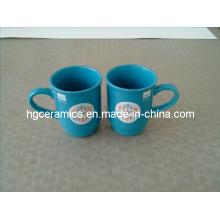 Taza de cerámica promocional Taza de cerámica de la Navidad