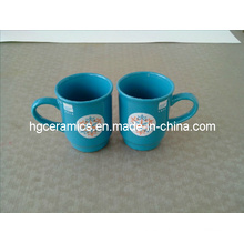 Taza cerámica promocional Taza cerámica de la Navidad