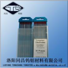 Electrodo de tungsteno para venta Wt30 en punta púrpura