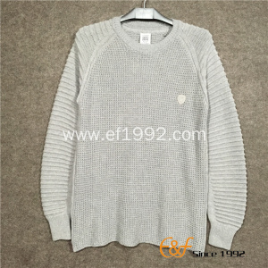 New Design Knitted Fashion Men's Thick Sweater