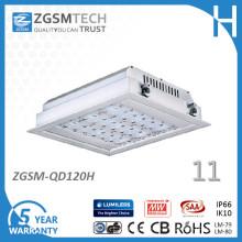IP66 imprägniern eingebettete 120W LED Tankstelle-Überdachungs-Lichter im Freien