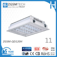IP66 Waterproof Outdoor Embedded 120W LED Gas Station Canopy Lights
