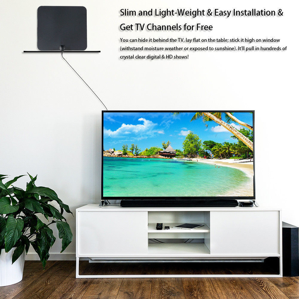 Satellite indoor hd digital tv antenna uhf