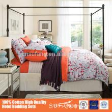 Nantong Hotel King Size Schlafzimmer Sets Bettbezug Sets für reaktive