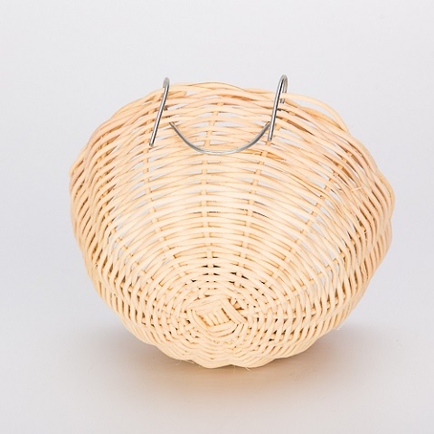 Percell Bowl Shaped Small Rattan Bird Nest