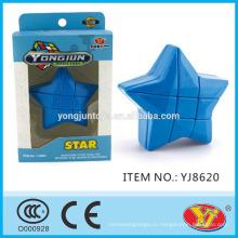 2016 новый продукт YJ YongJun Star Magic Puzzle куб образовательные игрушки английский Упаковка для продвижения