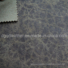 Fashion Design Breathable PU Furniture Leather (QDL-FB0001)