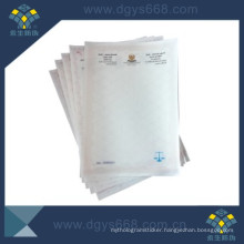 Anti-Counterfeiting Watermark Printing Security Paper