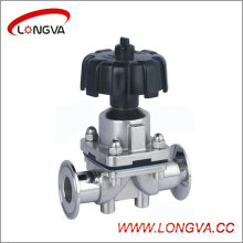 Sanitary Stainless Steel Manual Diaphragm Valve