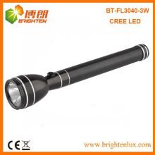 Fábrica de Alimentação Melhor 3w Power Style Cree Heavy Duty lanterna tocha recarregável Luz com Nicd 3C Battery