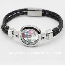 New Arrival Stainless Steel Costume Jewelry Bracelet with Locket