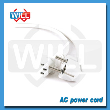 VDE ROHS PVC jacket white european power extension cord