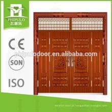 Porta principal popular do projeto moderno para a porta da rua da casa de campo
