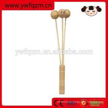 Boa qualidade madeira devolvendo massageador vara