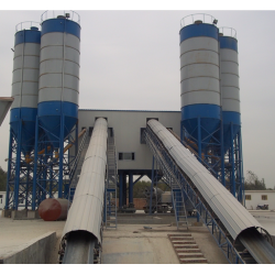 CE  Screw Conveyor Ready Mix Concrete Plant
