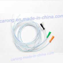 Tubo de estómago transparente estéril disponible médico de alta calidad del silicón