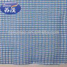 High Tensile Blue HDPE Windbreak Netting For Harbor , Highway