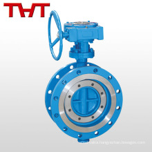 Triple Offset flange butterfly valve with metal seat