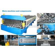 Pass CE e ISO YTSING-YD-0652 Automatic Control Double Layer Roll formando máquina em Tile tornando máquinas