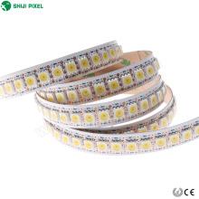Adressable Led Pixel Strip 12mm programmable 144 pixels / m rgb smd5050 apa102c 5vdc pour la décoration d'amusement