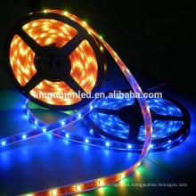 Luz de tira llevada flexible flexible del RGB bajo voltaje SMD3528