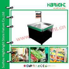 supermarket promotion stand for fruit and vegetable