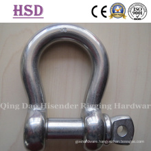 Us Type Forged Shackle, Stainless Steel 304, 316, A2, A4, European Large Dee, Bow Type