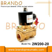 2W200-20 3/4'' Electric Water Solenoid Valve 120V 110V