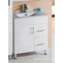 Sanitary Ware White Gloss Hot Sales MDF Bathroom Vanity (SH27-750WL)