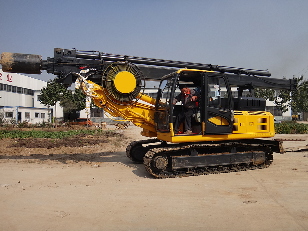Truck Mounted Rotary Drilling Rig