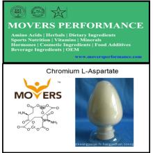 Catégorie comestible de L-aspartate de chrome de haute qualité