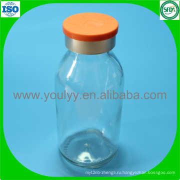 100 мл прозрачные бутылки вливания