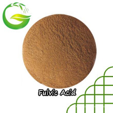 Engrais organique chélaté par calcium et acide fulvique