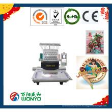 Máquina automática de bordado de la tapa de la cabeza de alta velocidad automática