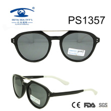 Double Bridge PC Frame Woman Style Sunglasses (PS1357)